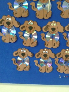 cd dog craft for kids