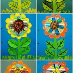 cd flower craft