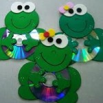 cd frog craft
