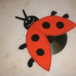 cd lady bug craft (2)