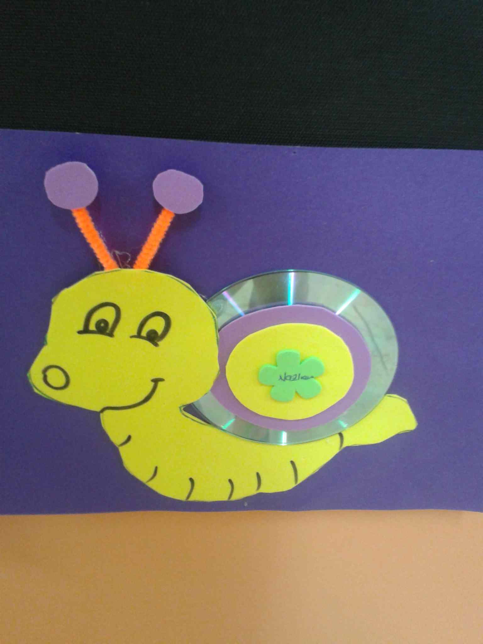 Snail craft for kids Crafts and