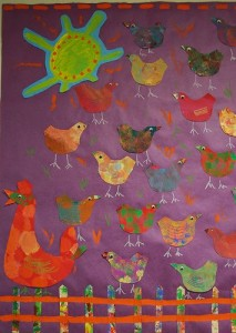 chicken farm craft
