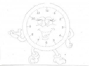 clock trace craft,