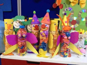 clown Plastic Bottle Crafts