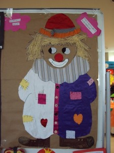 clown bulletin board