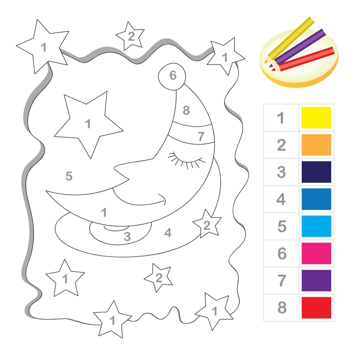 Star pinata coloring page