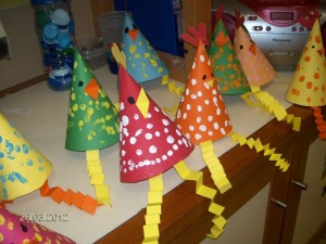cone_shaped_chicken craft