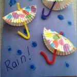 cupcake cap umbrella craft
