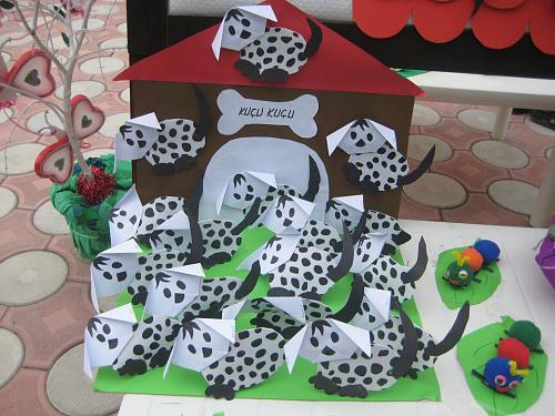 dalmation craft for kids