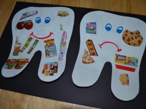 dental craft idea for kids