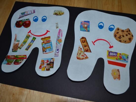 Dental Craft Idea For Kids on Personal Hygiene Coloring Pages