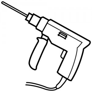 drill coloring page