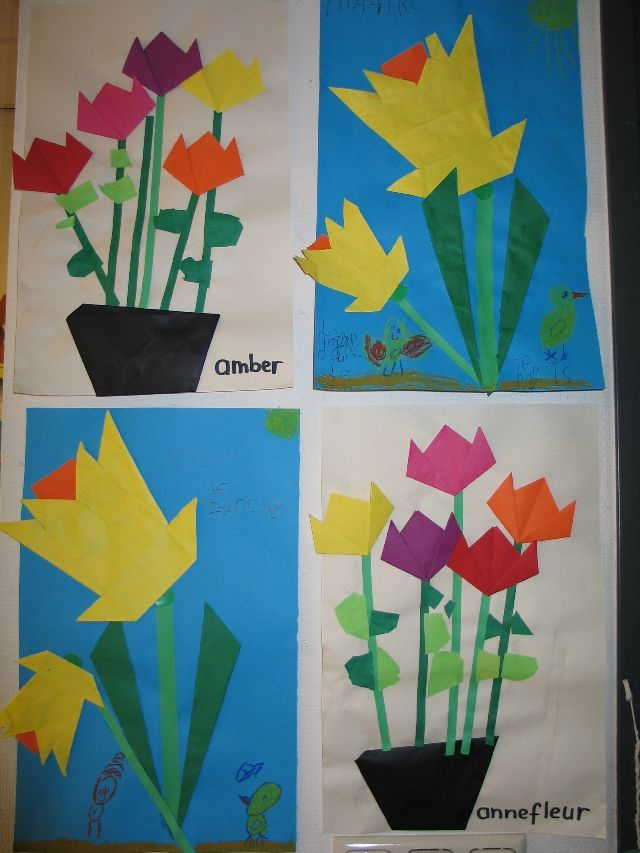 Craftsactvities and worksheets for preschooltoddler and kindergarten easy origami flower mightylinksfo