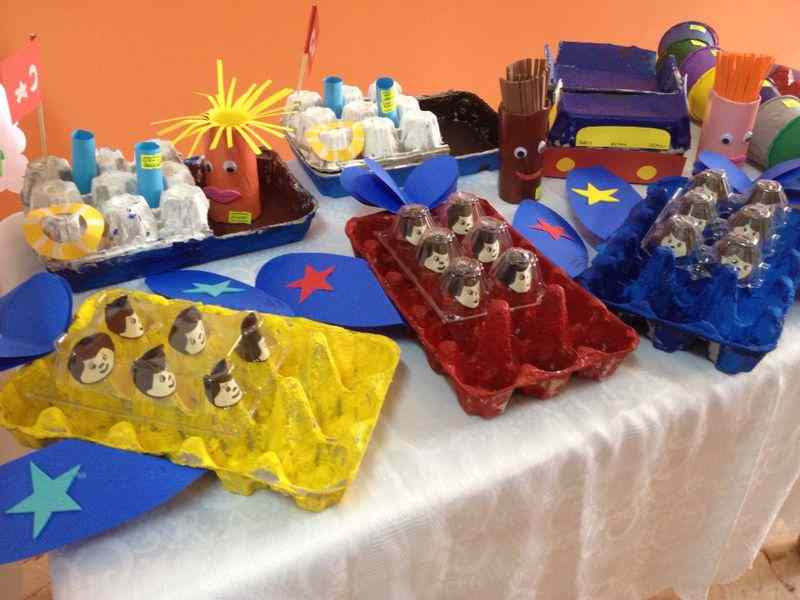 Air Transport Crafts For Preschool Kids