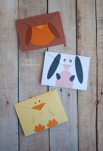 envelope animal craft