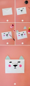 envelope animals crafts