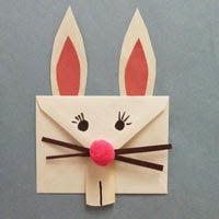 envelope rabbit