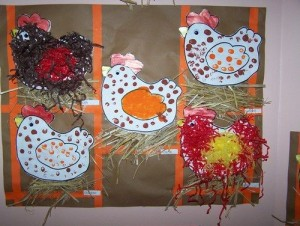 fingerprint hen craft