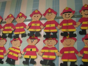 fireman craft for kids