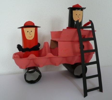 firetruck craft