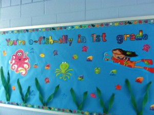 fishing bulletin board ideas
