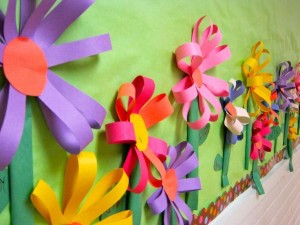 flower bulletin board