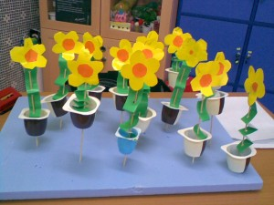 flower craft for kids