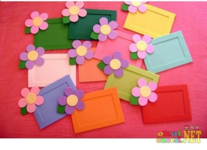 flower frame craft