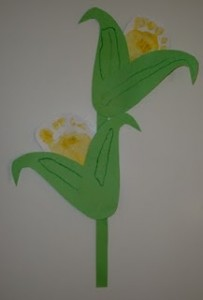 footprint corn craft