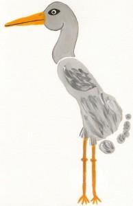 footprint stork craft