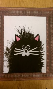 forkprint cat craft