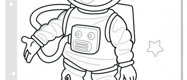 free printable astronaut c - Astronaut Coloring Pages Printable