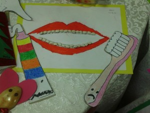 free dental craft idea for kids