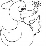 free duck coloring page for kids (12)