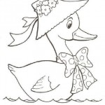 free duck coloring page for kids (43)