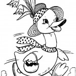 free duck coloring page for kids (47)