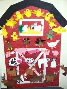 Farm bulletin board Crafts and