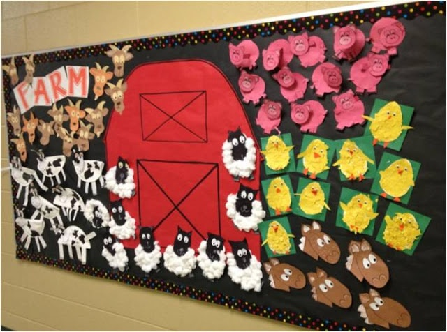Free Farm Bulletin Board 3 Crafts And Worksheets For