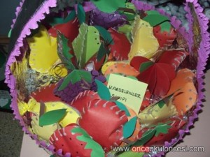 free fruit basket craft 1