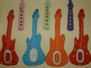free guitar craft for kids