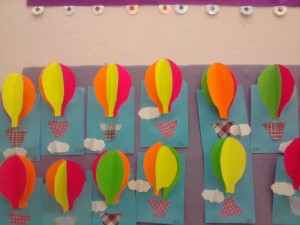 free hot air balloon craft