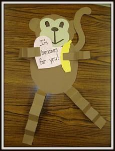 free monkey craft