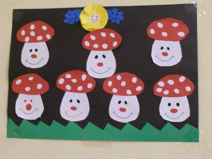free mushroom craft