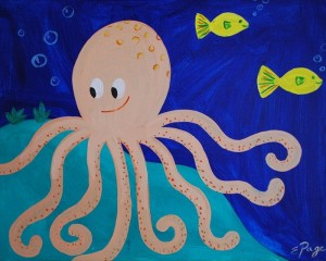 free paper octopus craft idea for kids (1)