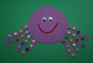free paper octopus craft idea for kids (5)