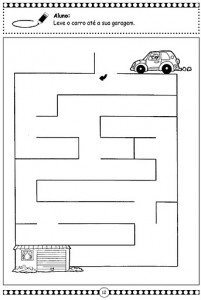 It is a photo of Eloquent Preschool Maze Printable