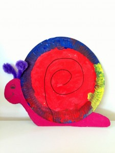free snail craft for kids