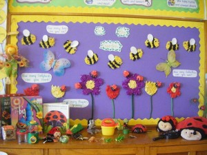 free spring bulletin board idea for kids (6)