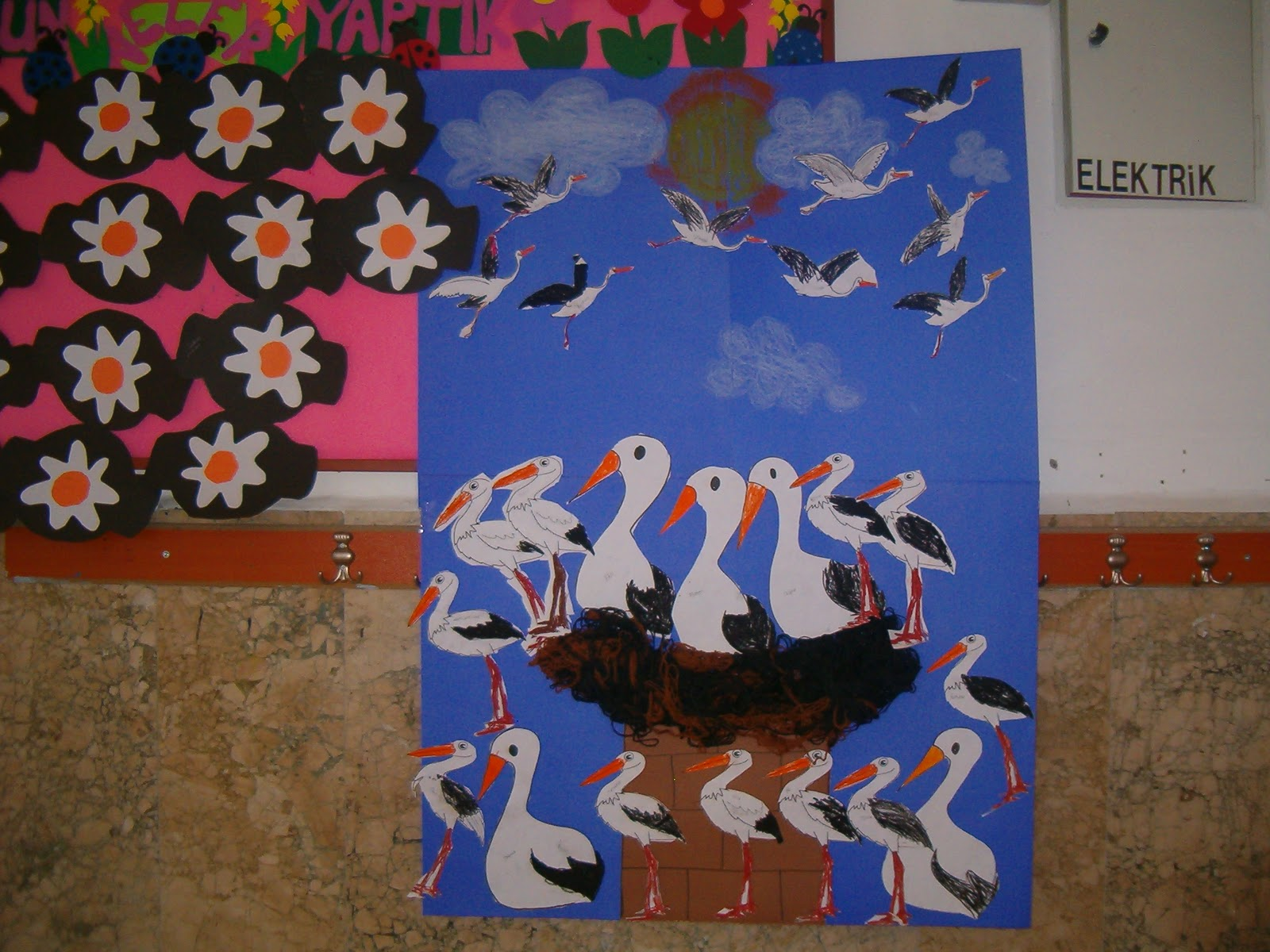 free stork crafts