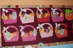 fruit basket craft for kids